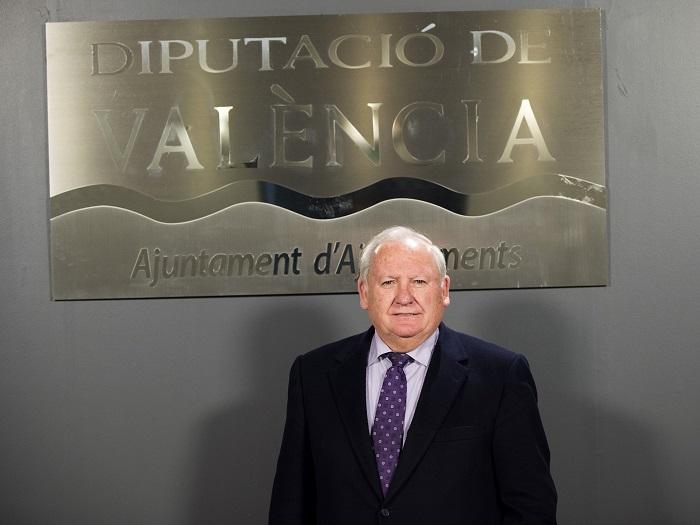 El alcalde de Riba-roja de Túria y diputado provincial, Francisco Tarazona.