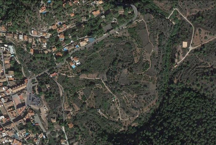 La partida de la Toixima, en la Calderona, es una de las que serán objeto de recuperación.