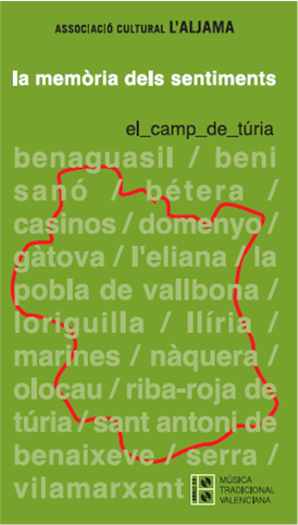 Portada CD Associació cultural l'Aljama de Bétera el camp de túria