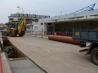 S'inicien les obres del col·lector del carrer València de l'Eliana