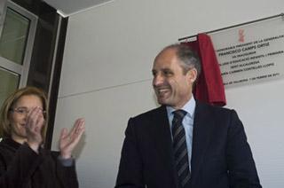Inauguración El Campés en la Pobla de Vallbona El camp de Túria