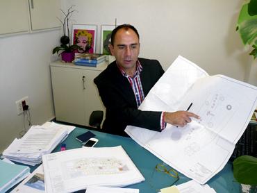 Concejal y portavoz del gobierno municipal, Felipe del Baño el camp de turia