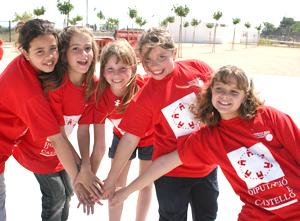 alegría niñas el camp de turia