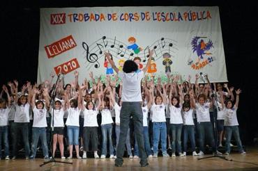 encuentro coros escuela pública l'eliana el camp de túria