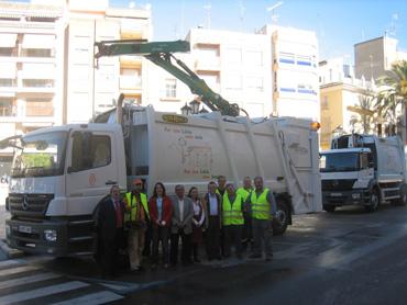 Nuevos camiones basura en Llíria el camp de túria