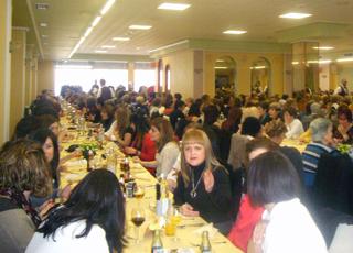 sopar dia de la dona 2013 la Pobla de Vallbona