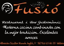 Restaurante fusió Bétera.Guia de ocio del Camp de Túria