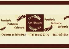 Cafetería San Marco Bétera. Guía de ocio del Camp de Túria