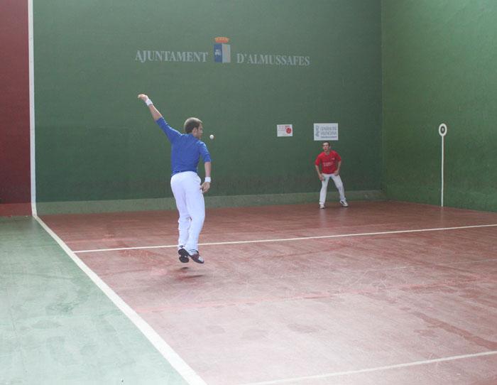 L'equip de Vilamarxant participarà al campionat autonòmic de frontó
