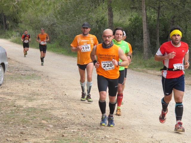 Participantes en la pasada edición del 'Trail 3 Pics Les Rodanes'.