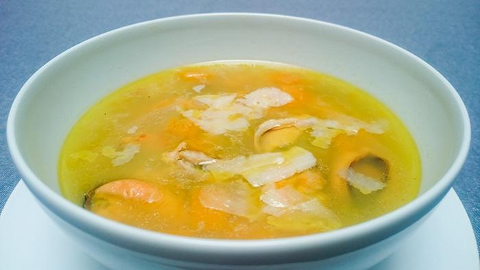 sopa carabassa clotxines