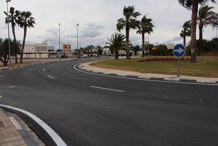 Un dels Un dels carrers objecte de millora.