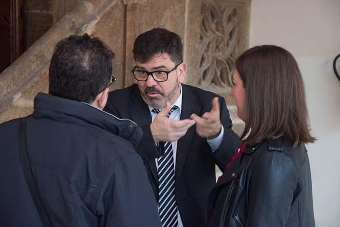 Emili Altur Visita el castell de Bétera