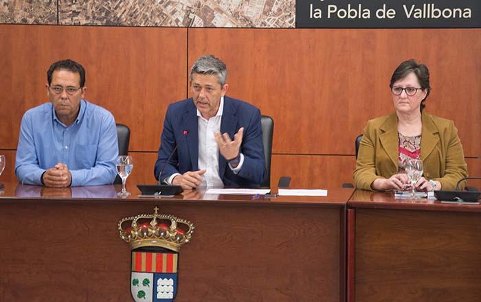 Presentació inversions la Pobla de Vallbona2018