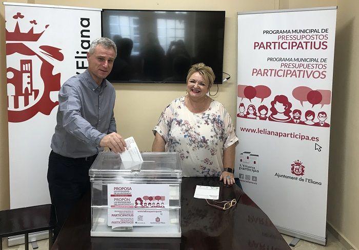 Presupuestos participativos l'Eliana 2018