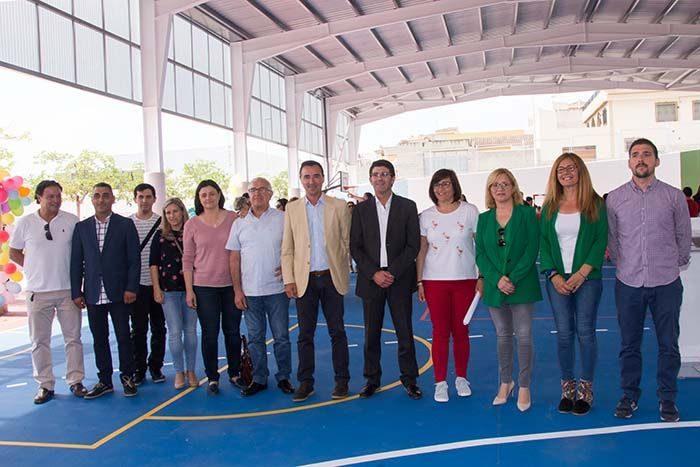 Coberta esportiva del CEIP Camp de Túria de Riba-roja de Túria