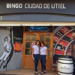 inauguracion bingo utiel azulred