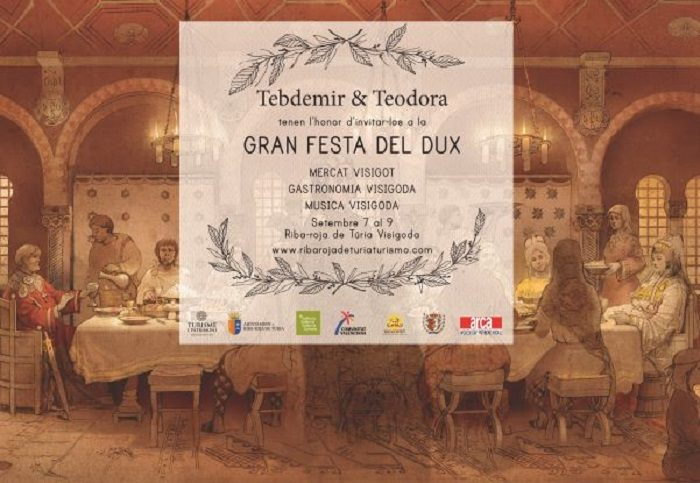 cartel II festa del dux riba roja