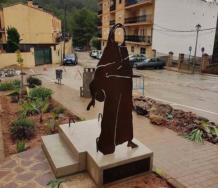 escultura canp de turia