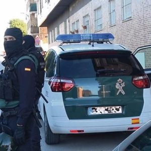 guardia civil camp de turia