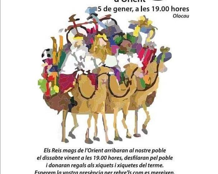 Cabalgata de Reyes Olocau Camp de Turia