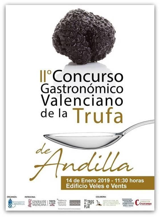 Concurso gastronómico Andilla Camp de Túria