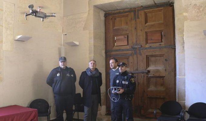 Policia local dron Camp de Túria