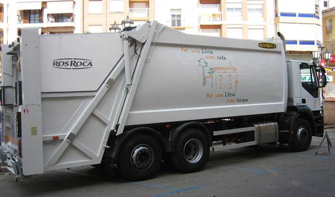 camión basura Camp de Túria