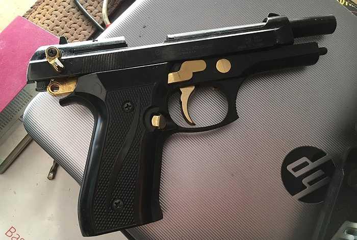 pistola camp de turia