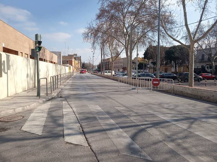 obres pavimentació albereda Camp de Túria