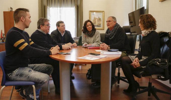Reunión Secretario UGT Camp de Túria