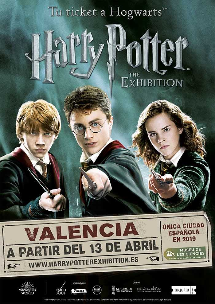 harry potter camp de turia