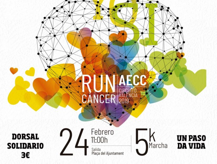cartel run cancer Camp de Túria