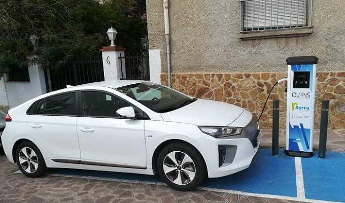 coche electrico camp de turia