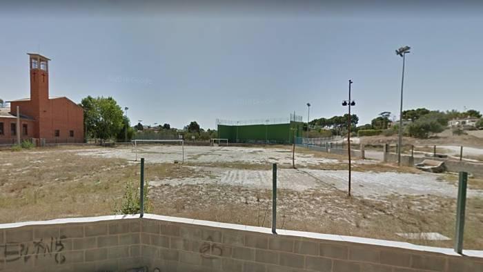 emplazamiento de los futuros campos de futbol en El Prat Camp de Túria