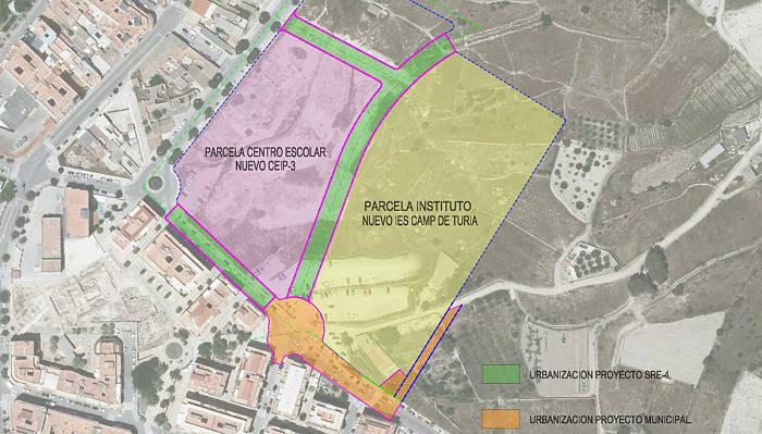 plano_viales_mura Camp de Túria