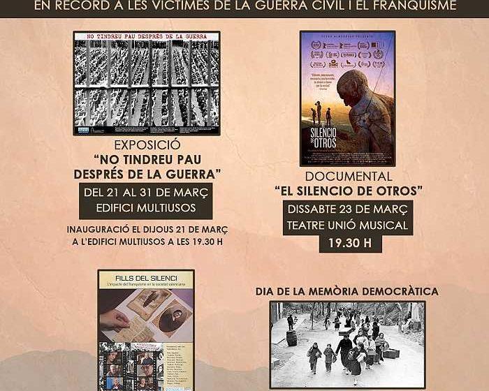cartel memoria histórica camp de túria