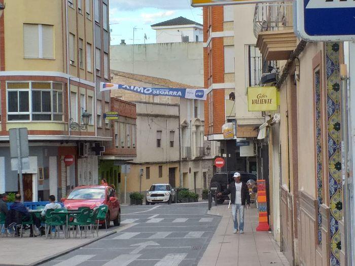 pancarta PP camp de turia