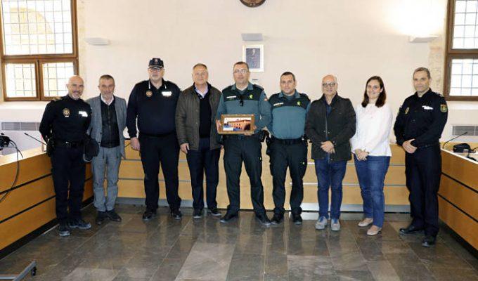 Reconocimiento Guardia Civil camp de túria