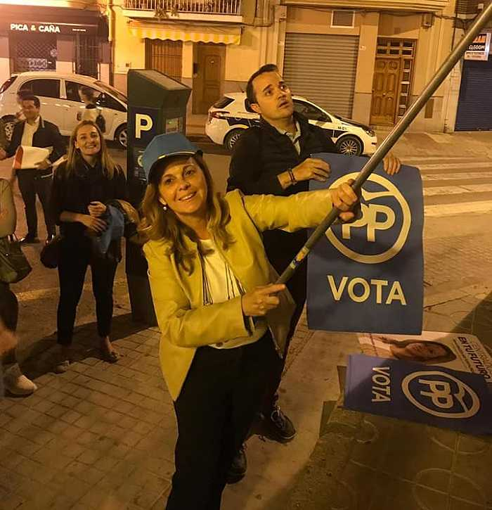 campaña electoral pp camp de turia