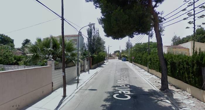 Calle Maestro Serrano montesolcamp de túria