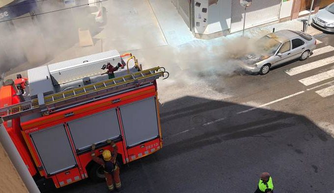 incendio vehículo llíria camp de túria