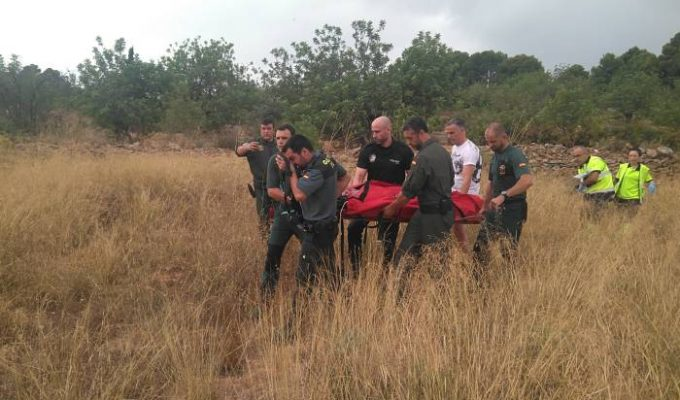rescate guardia civil lliria camp de turia
