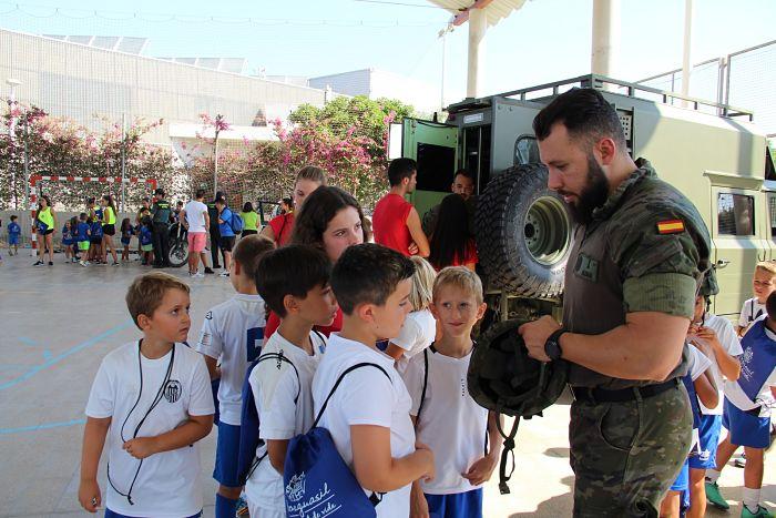 militares escuela verano benaguasil camp de turia