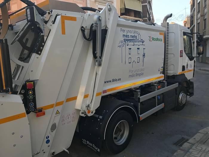 camion basura lliria camp de turia
