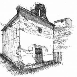 dibujo de la iglesia del buen pastor camp de turia
