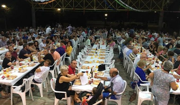 cena cancer 2019 marines camp de turia