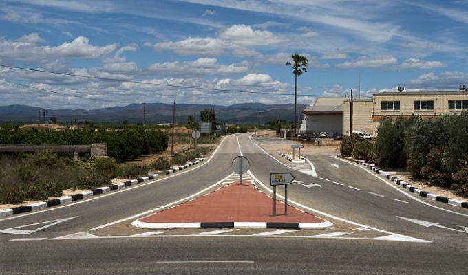 Carretera Llíria-Alcublas camp de turia