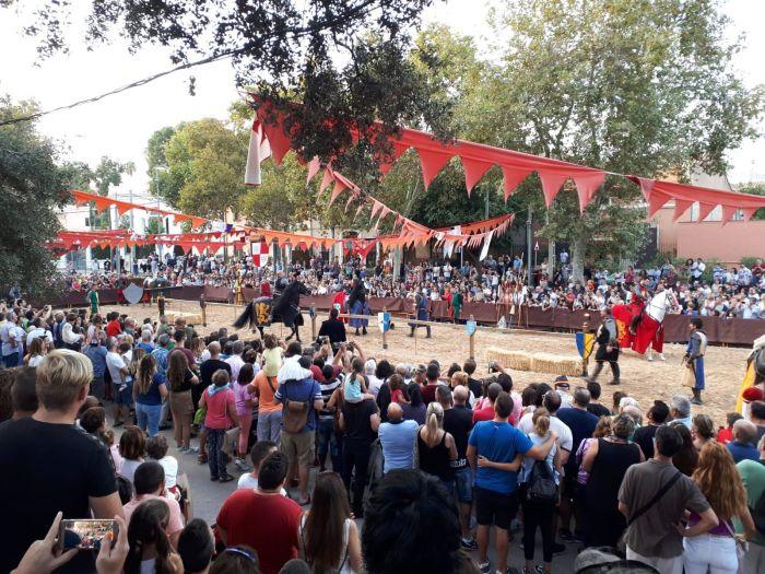 reconstruccion 9 octubre bétera camp de túria