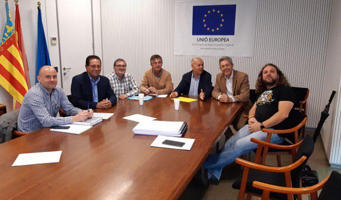 Reunió Pobla Vallbona amb Dir Gen Aigua camp de túria